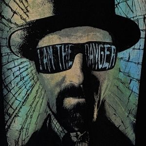 Breaking Bad Shirts - Breaking Bad I am The Danger Walter White T Shirt